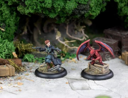 New Miniatures for Achtung! Cthulhu RPG & Wargame