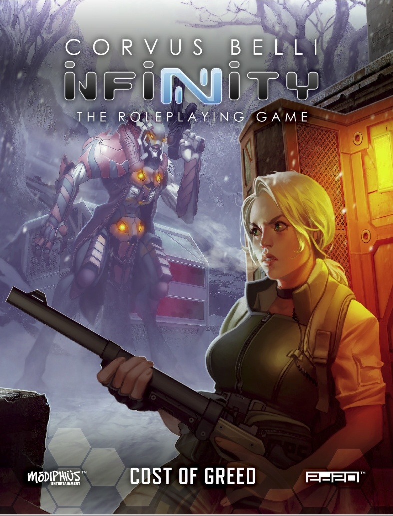 Infinity Cost of Greed RPG