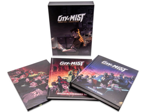 Acclaimed neo-noir RPG City of Mist now in print!